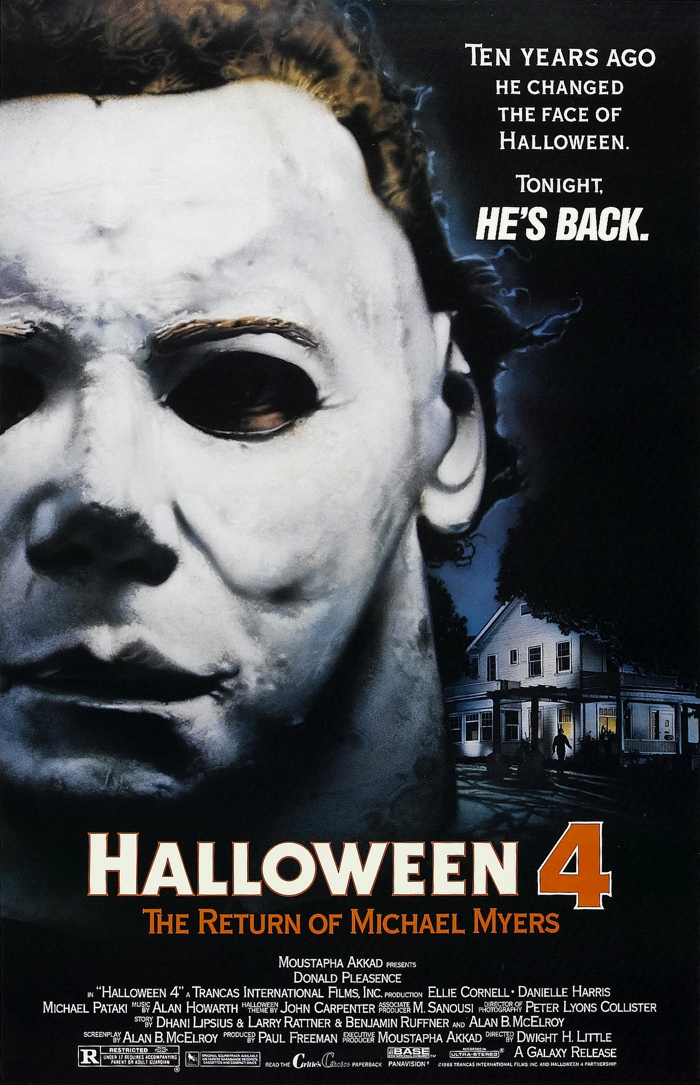 Halloween 4: The Return of Michael Myers kapak