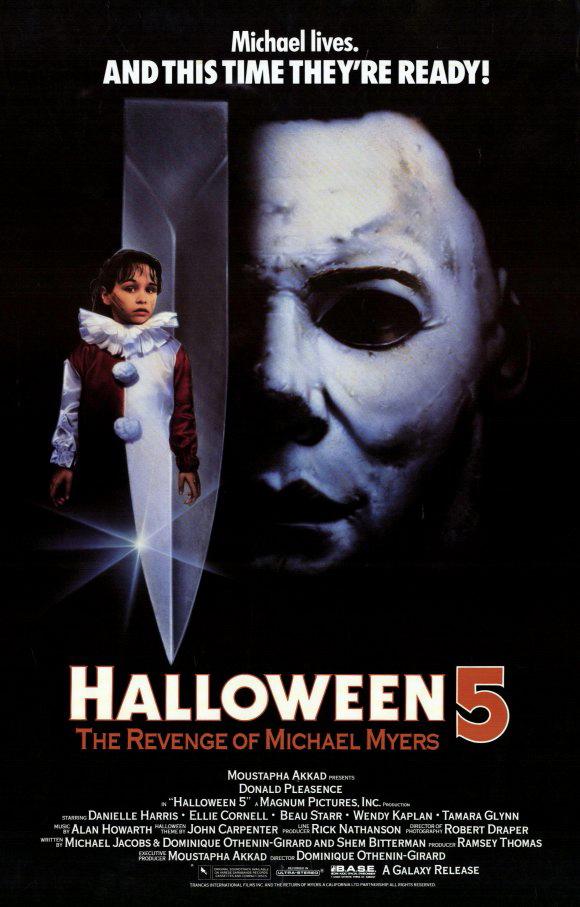 Halloween 5 kapak