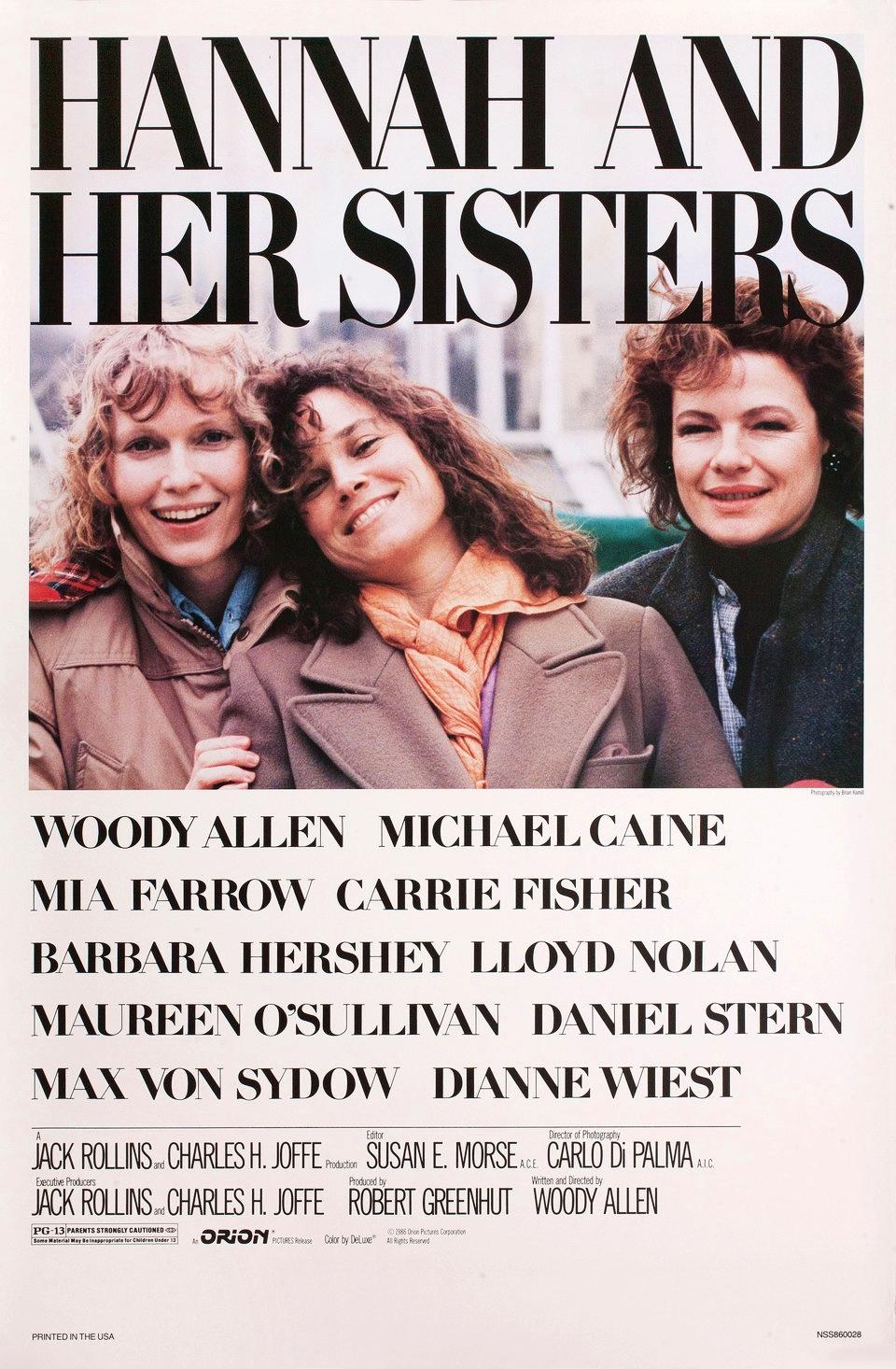 Hannah and Her Sisters kapak
