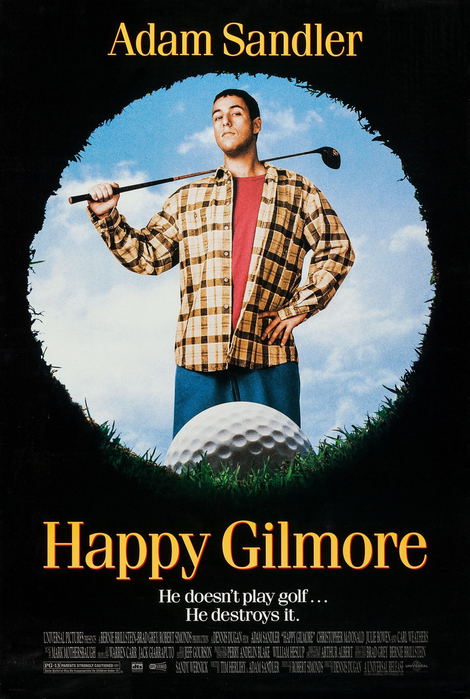 Happy Gilmore kapak