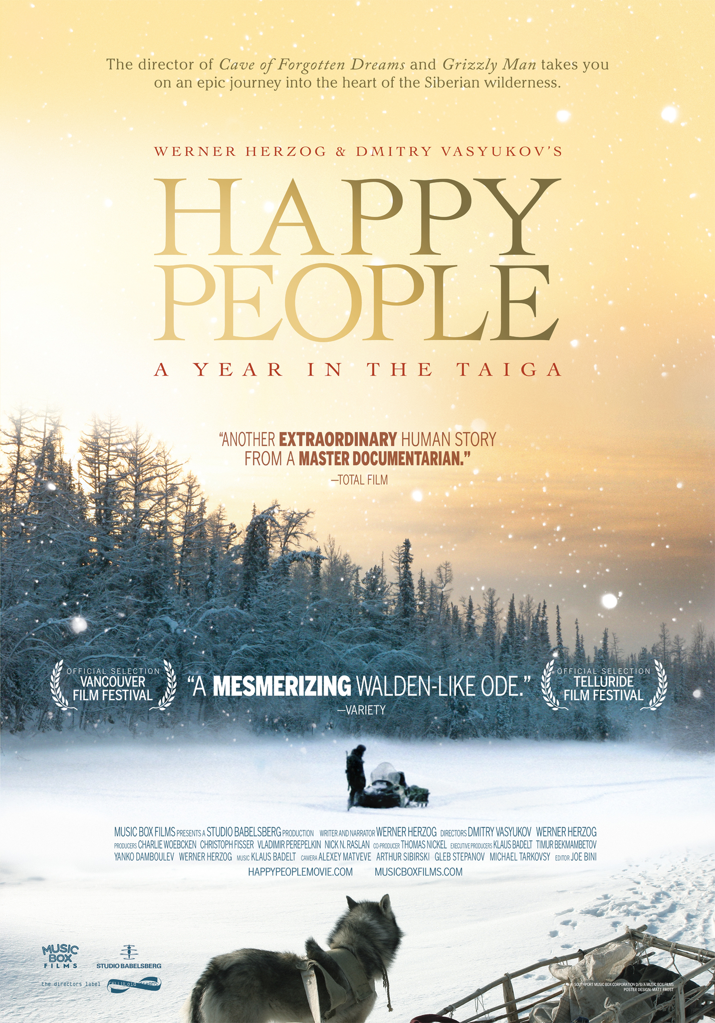 Happy People: A Year in the Taiga kapak