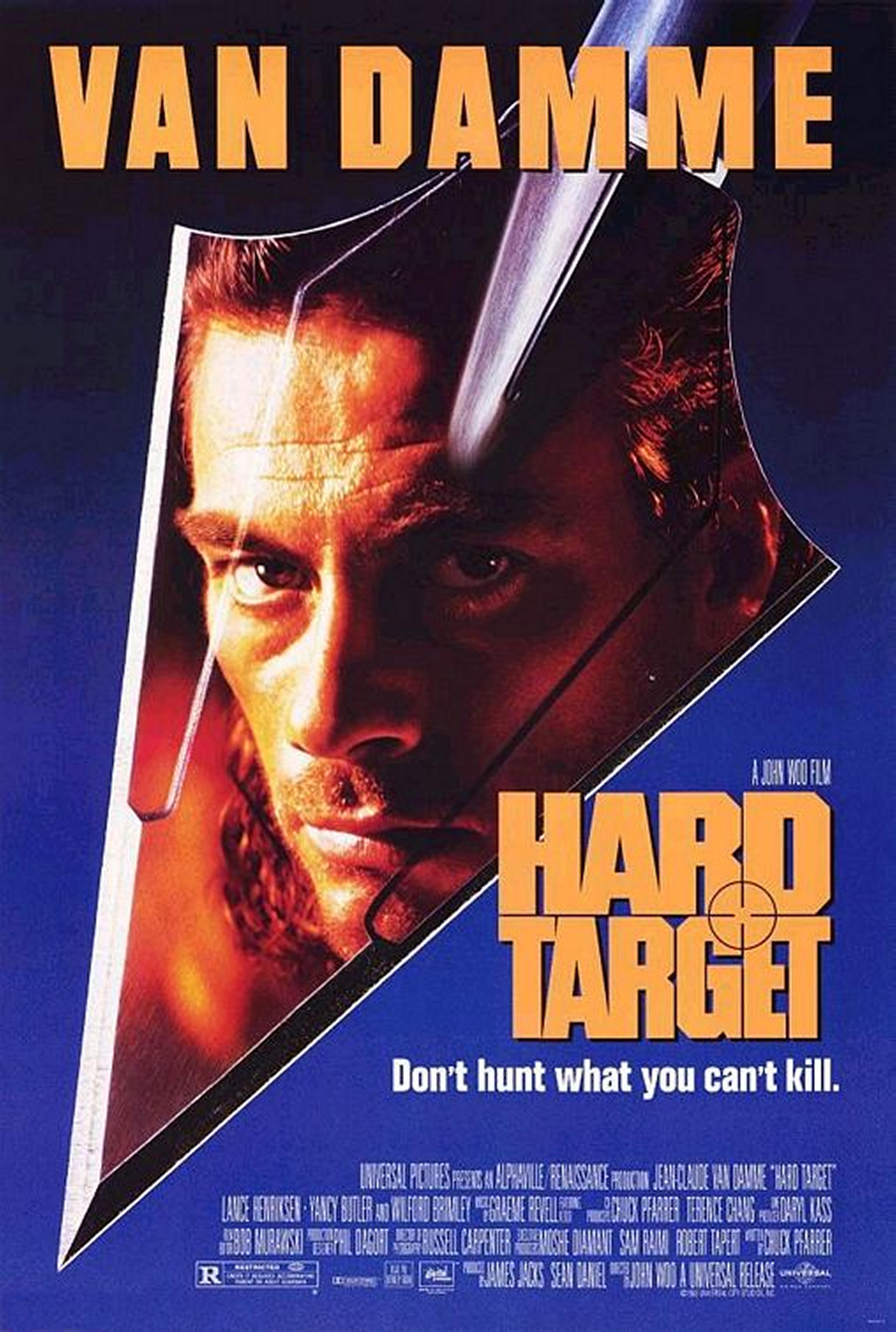 Hard Target kapak