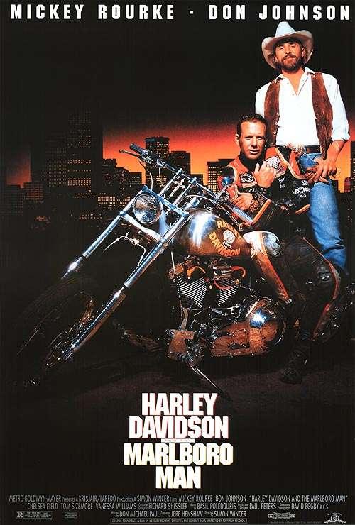 Harley Davidson and the Marlboro Man kapak
