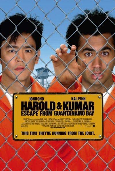 Harold & Kumar Escape from Guantanamo Bay kapak