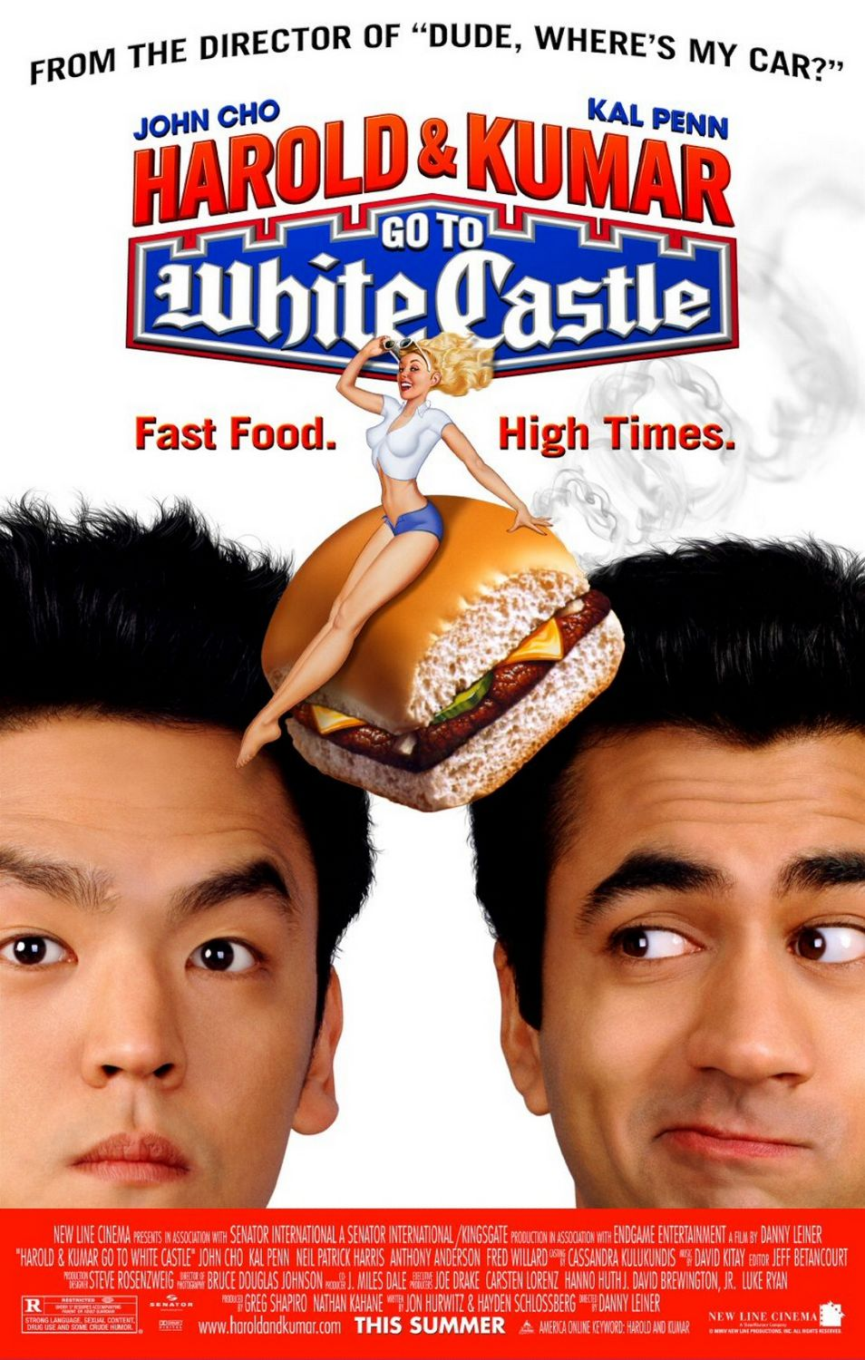 Harold & Kumar Go to White Castle kapak