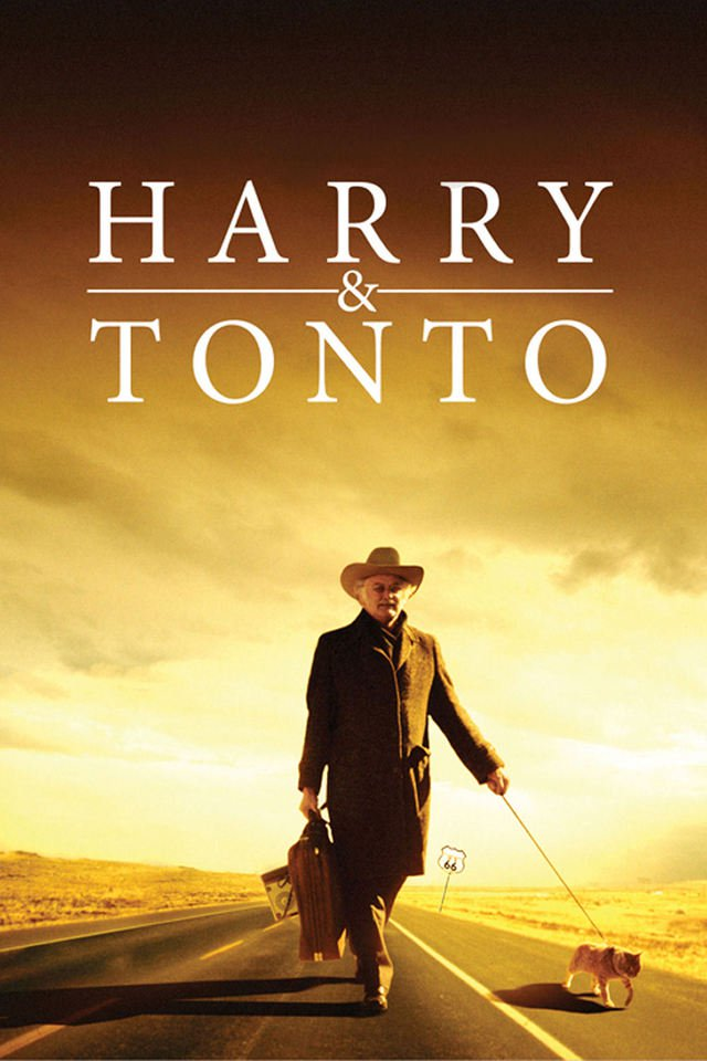 Harry and Tonto kapak
