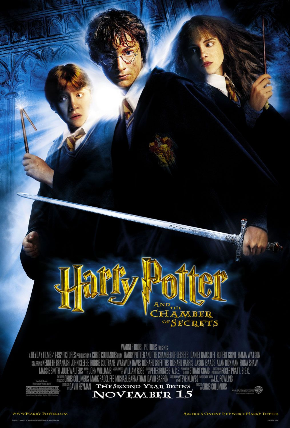 Harry Potter and the Chamber of Secrets kapak
