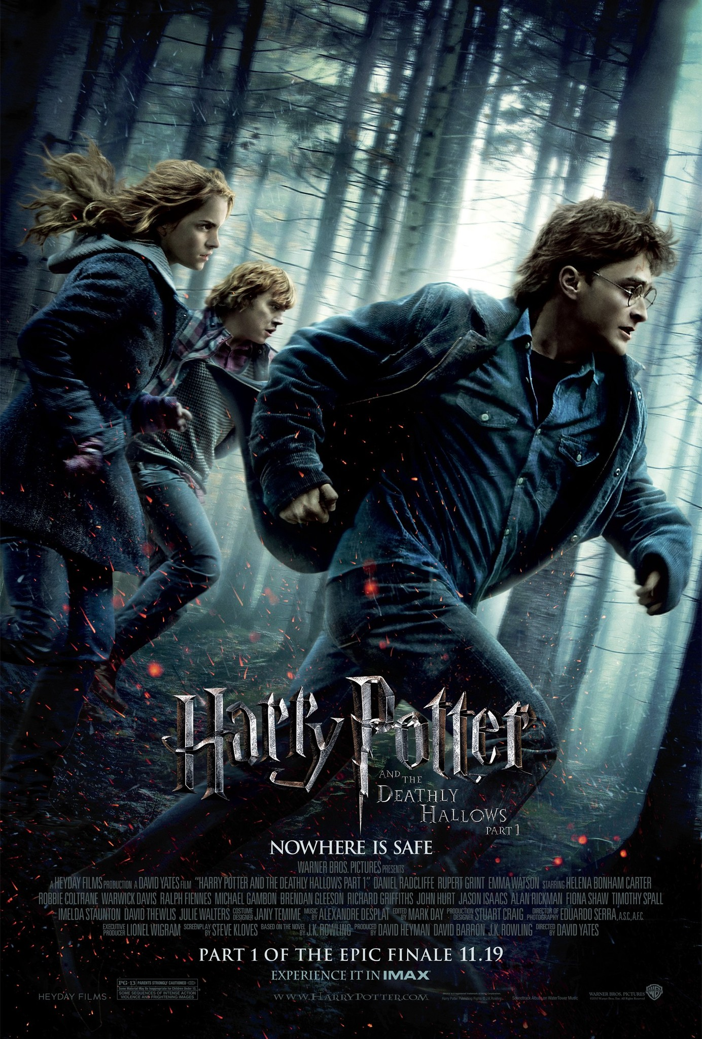 Harry Potter and the Deathly Hallows: Part 1 kapak
