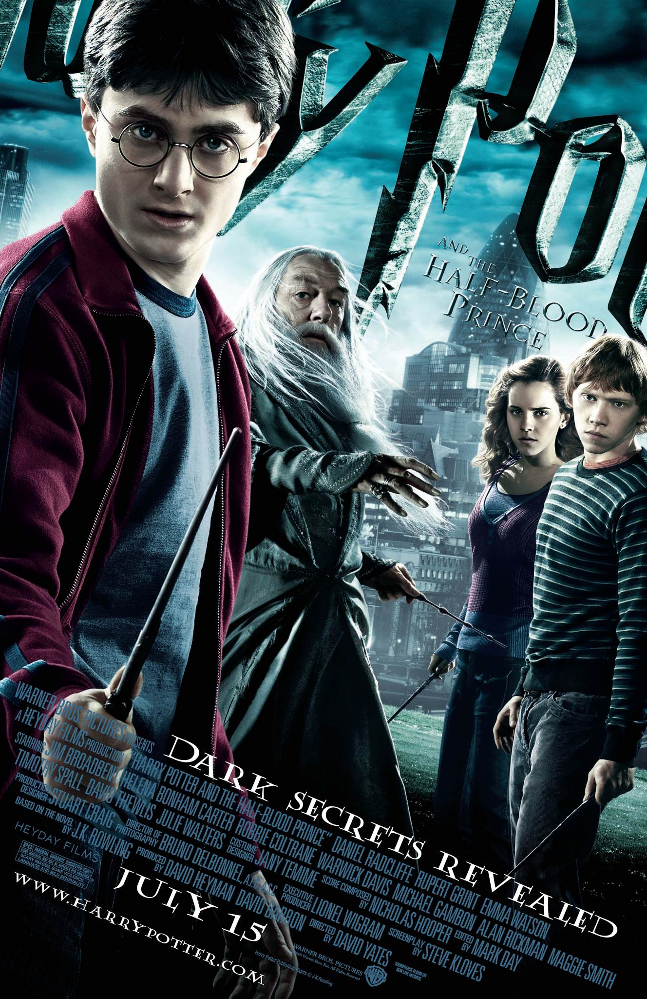Harry Potter and the Half-Blood Prince kapak