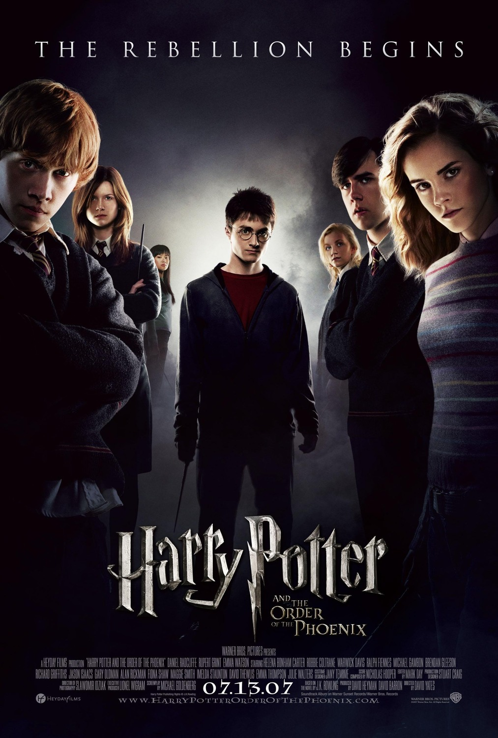 Harry Potter and the Order of the Phoenix kapak