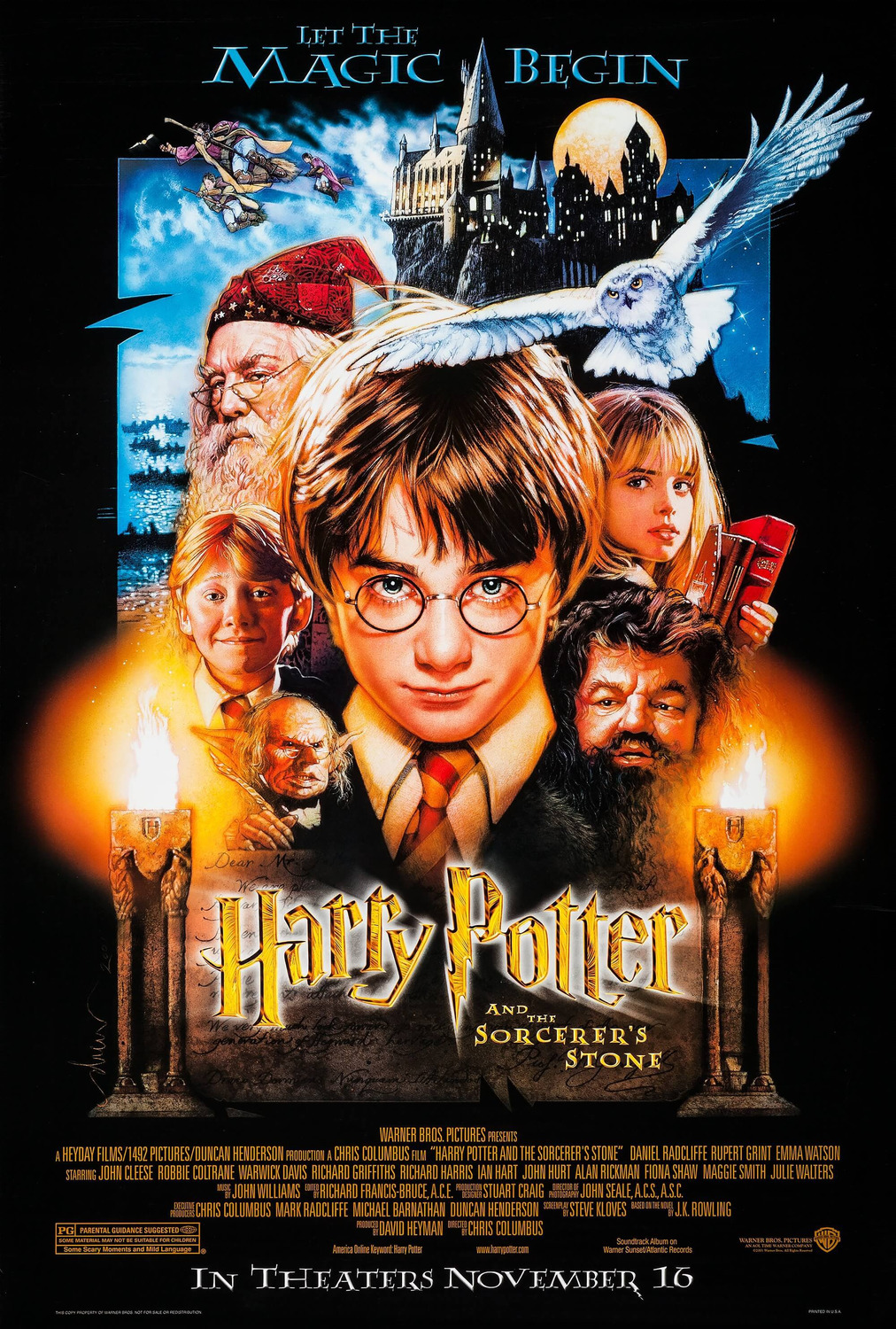 Harry Potter and the Sorcerer's Stone kapak