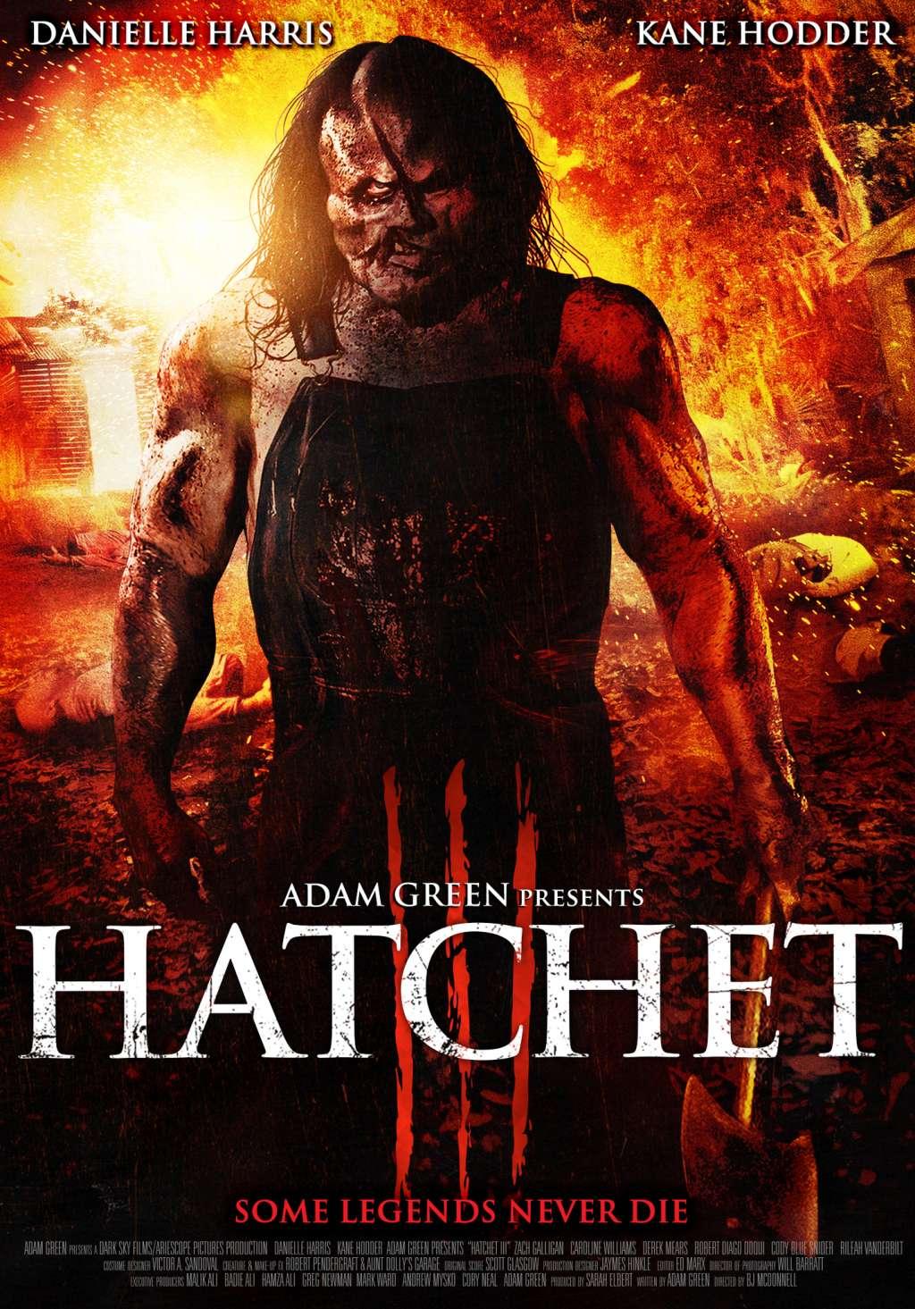 Hatchet III kapak