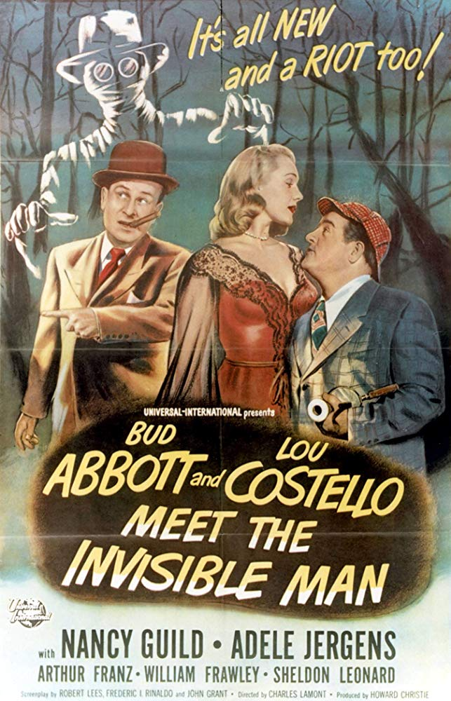 Abbott and Costello Meet the Invisible Man kapak