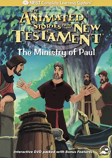 Animated Stories from the New Testament kapak