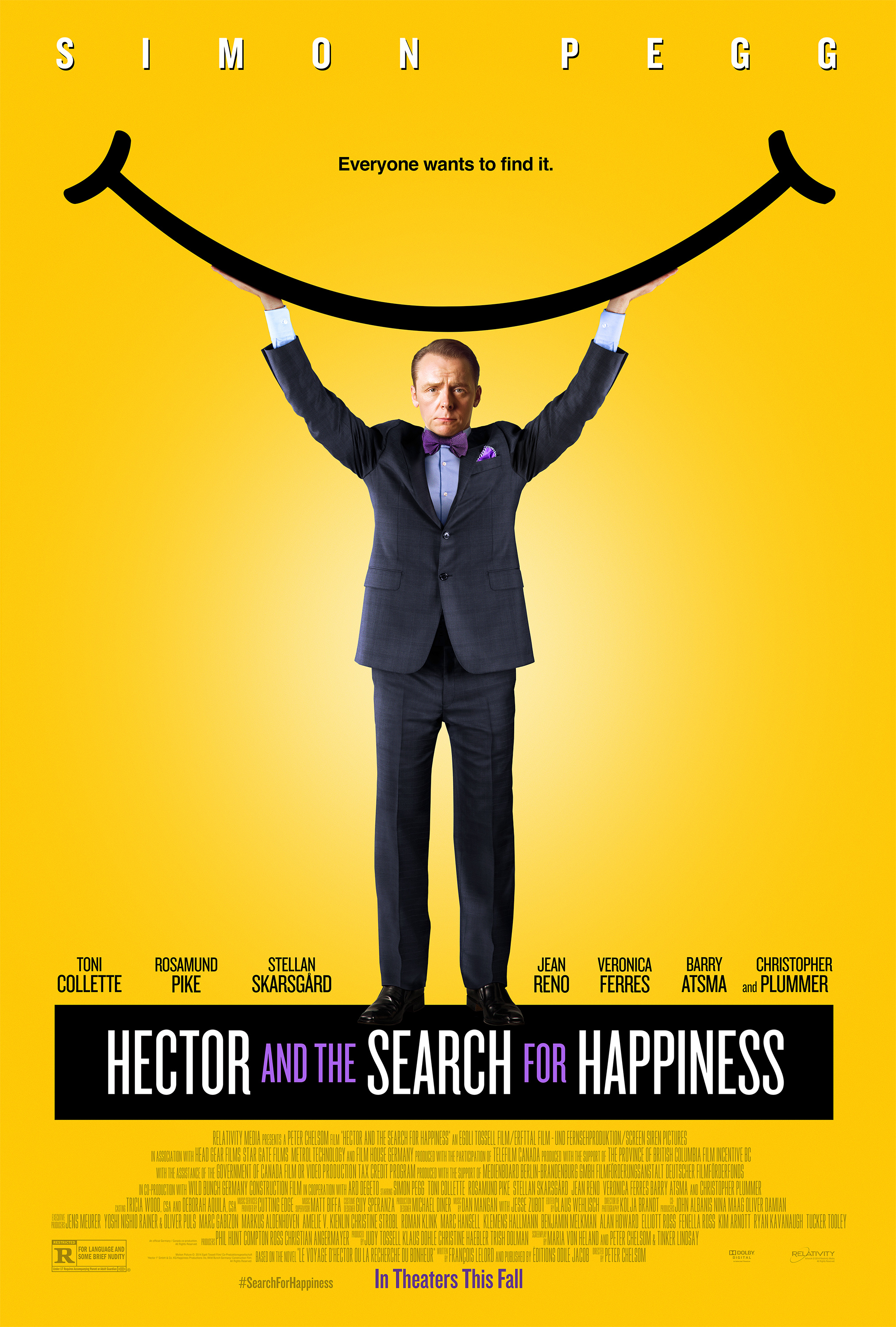 Hector and the Search for Happiness kapak