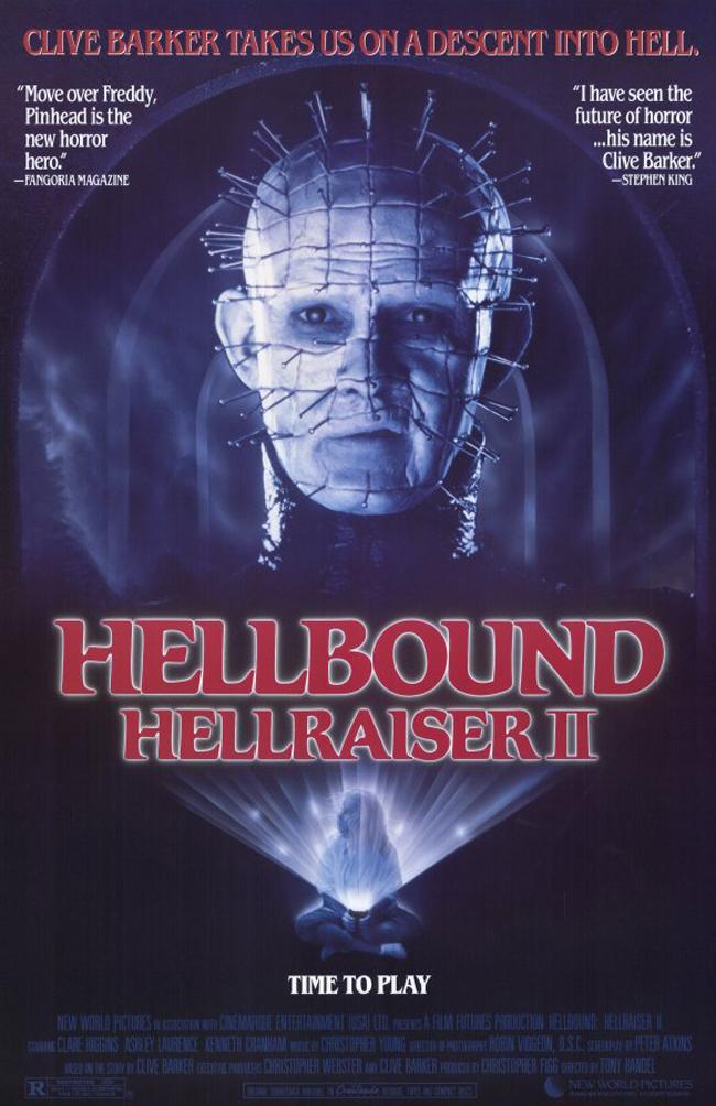 Hellbound: Hellraiser II kapak