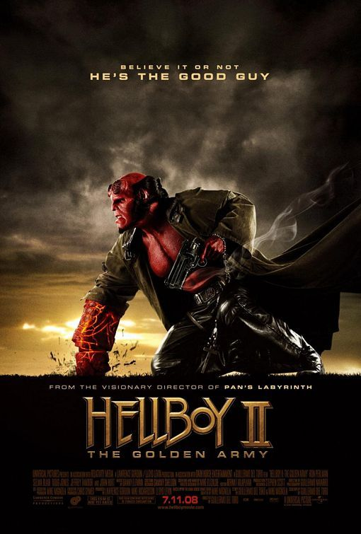 Hellboy II: The Golden Army kapak