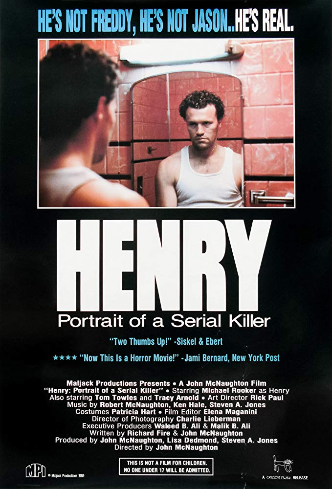 Henry: Portrait of a Serial Killer kapak