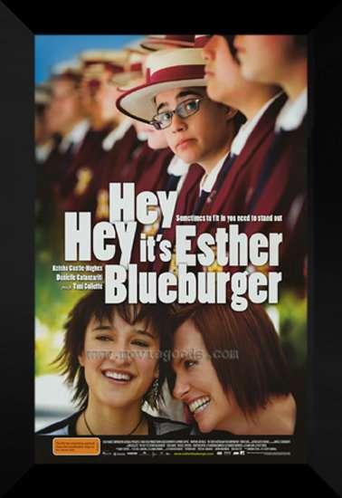 Hey Hey It's Esther Blueburger kapak