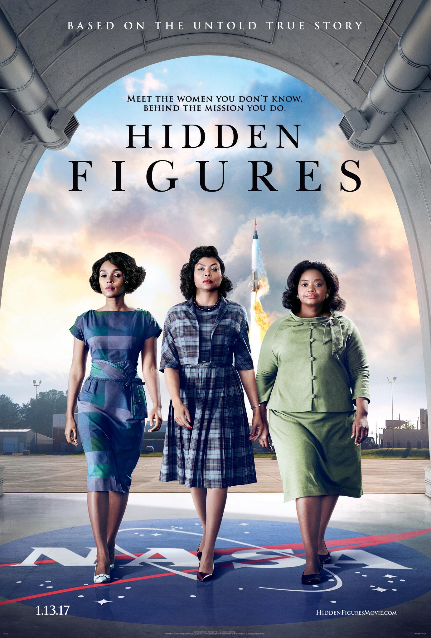 Hidden Figures kapak
