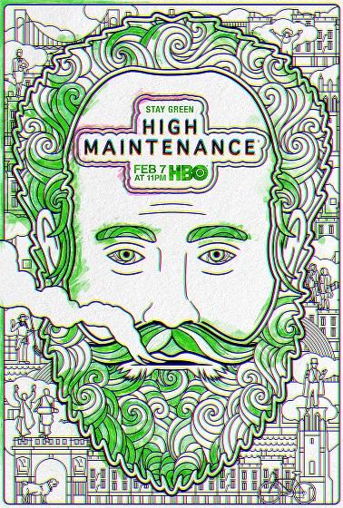 High Maintenance kapak
