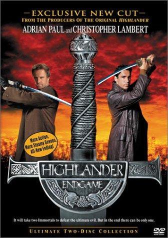 Highlander: Endgame kapak