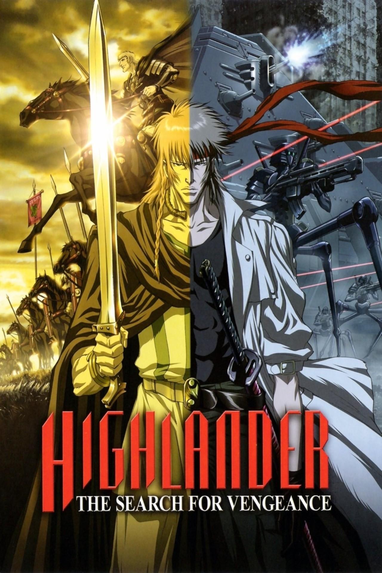 Highlander: The Search for Vengeance kapak