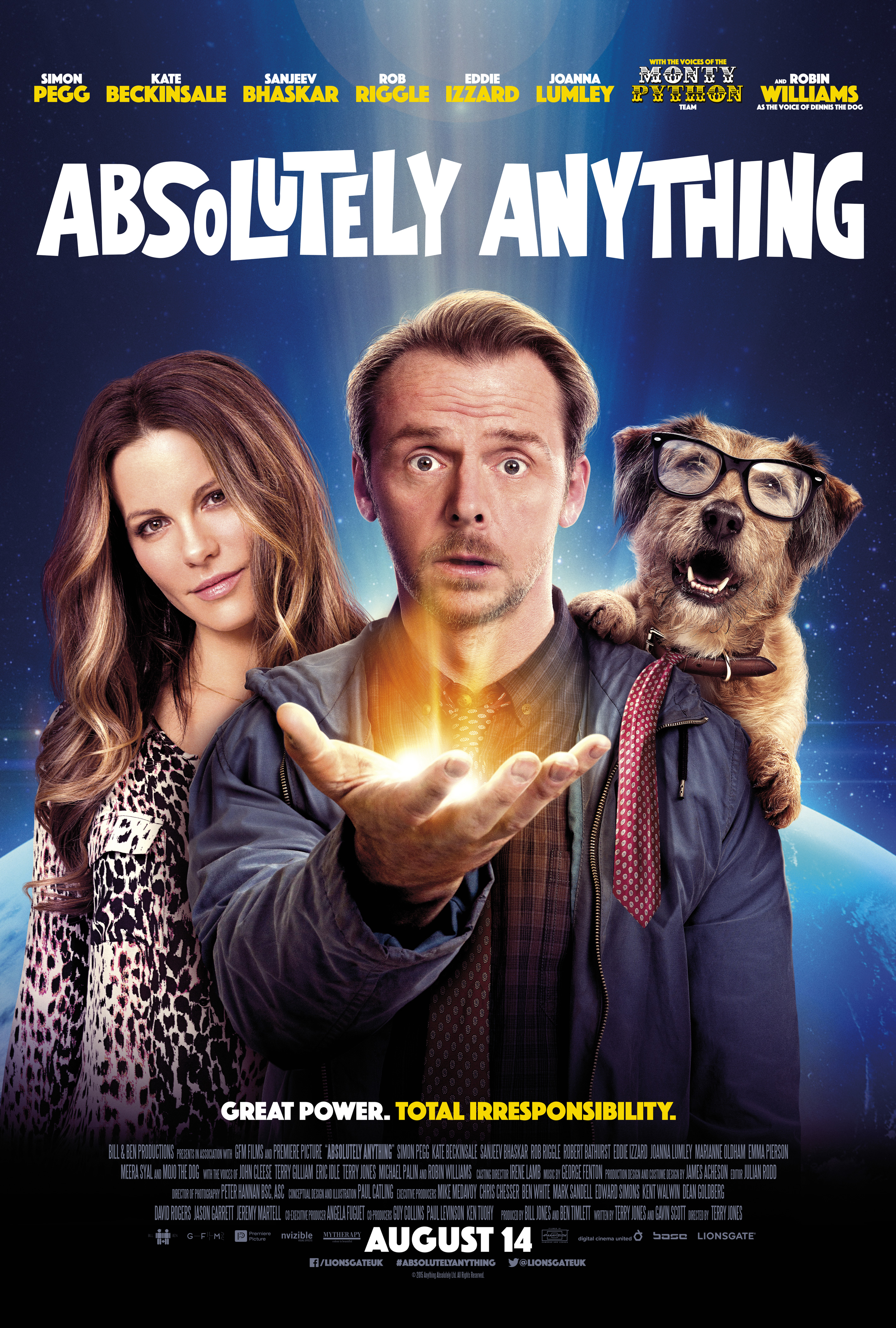 Absolutely Anything kapak