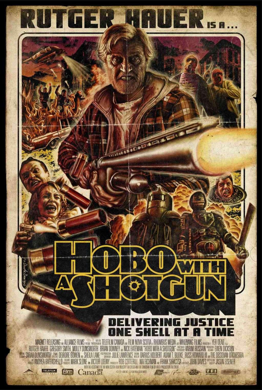 Hobo with a Shotgun kapak