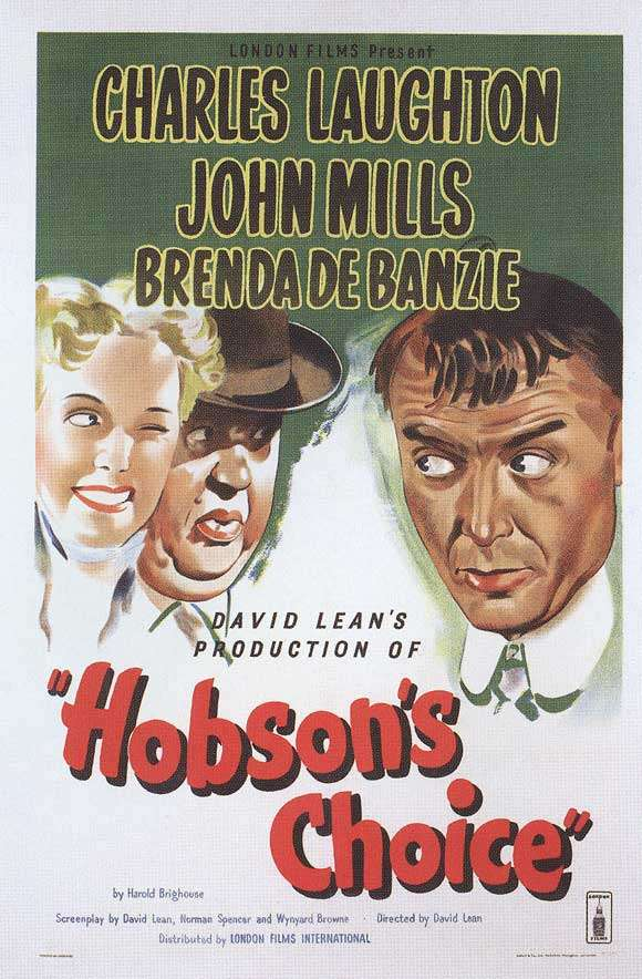 Hobson's Choice kapak