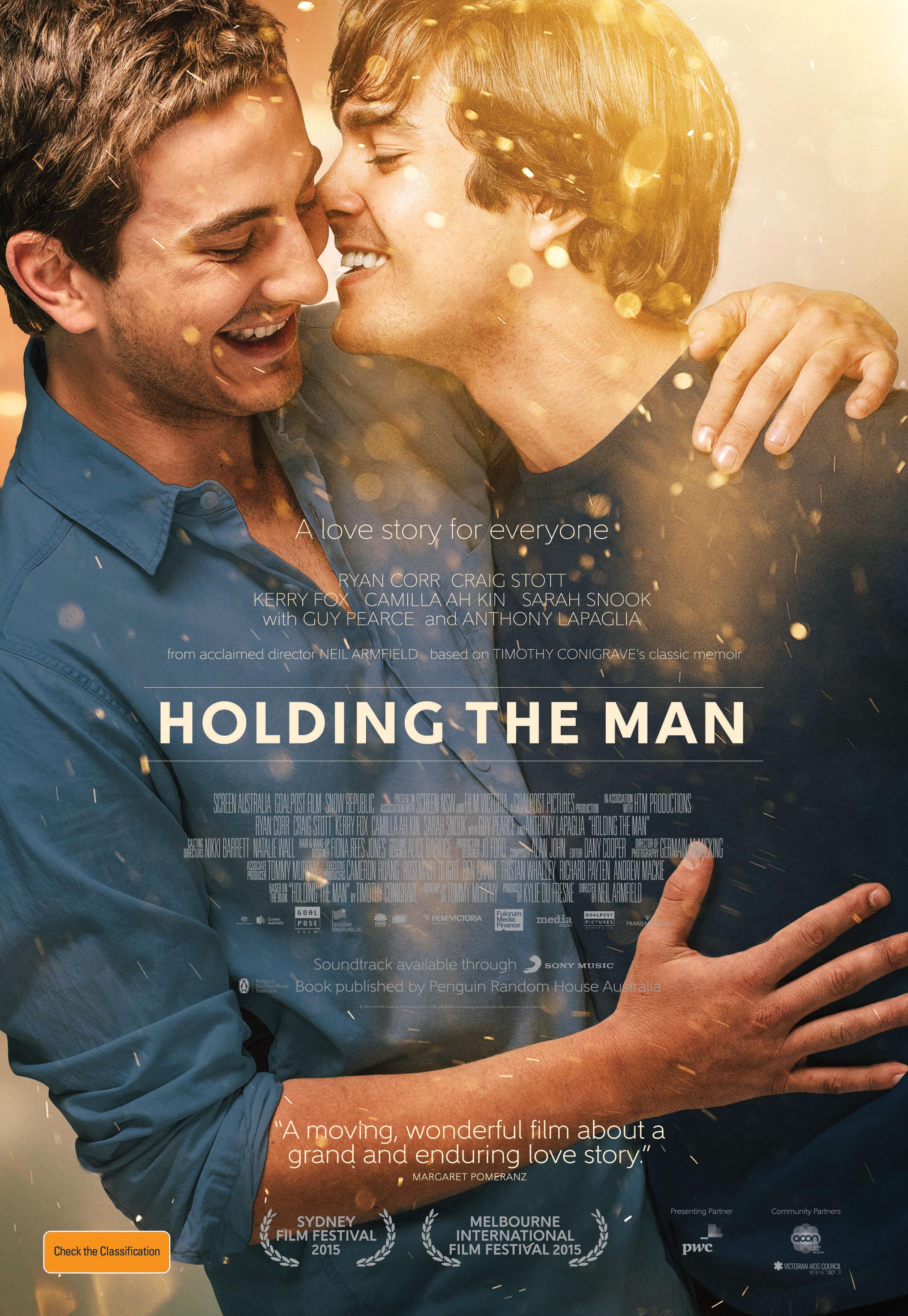 Holding the Man kapak