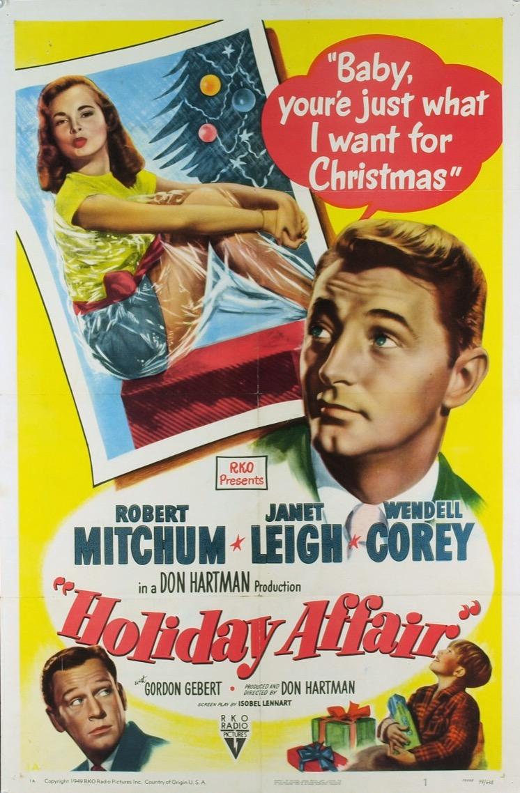 Holiday Affair kapak