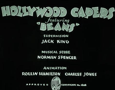 Hollywood Capers kapak