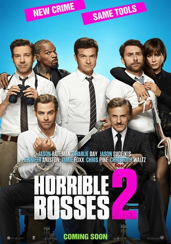 Horrible Bosses 2 kapak