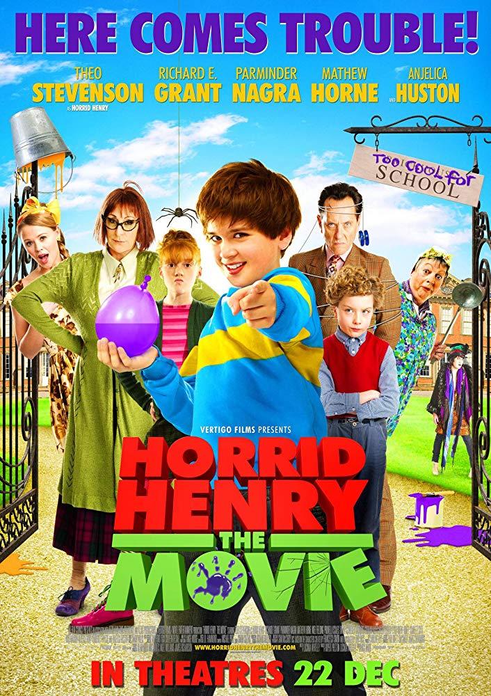 Horrid Henry: The Movie kapak