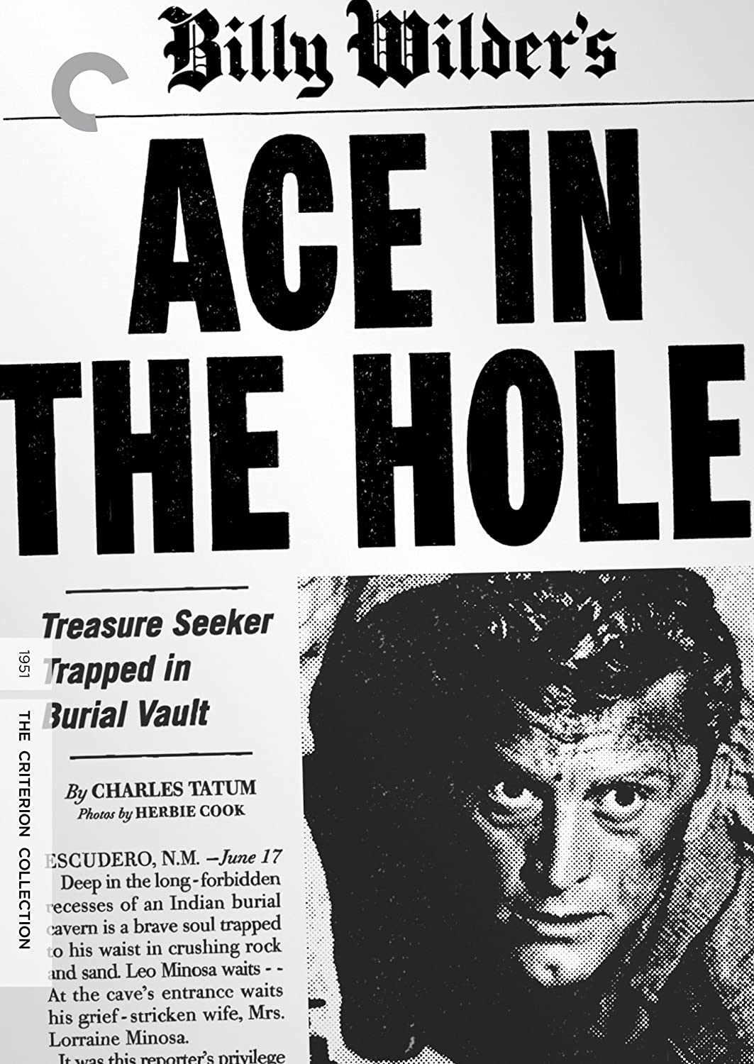 Ace in the Hole kapak