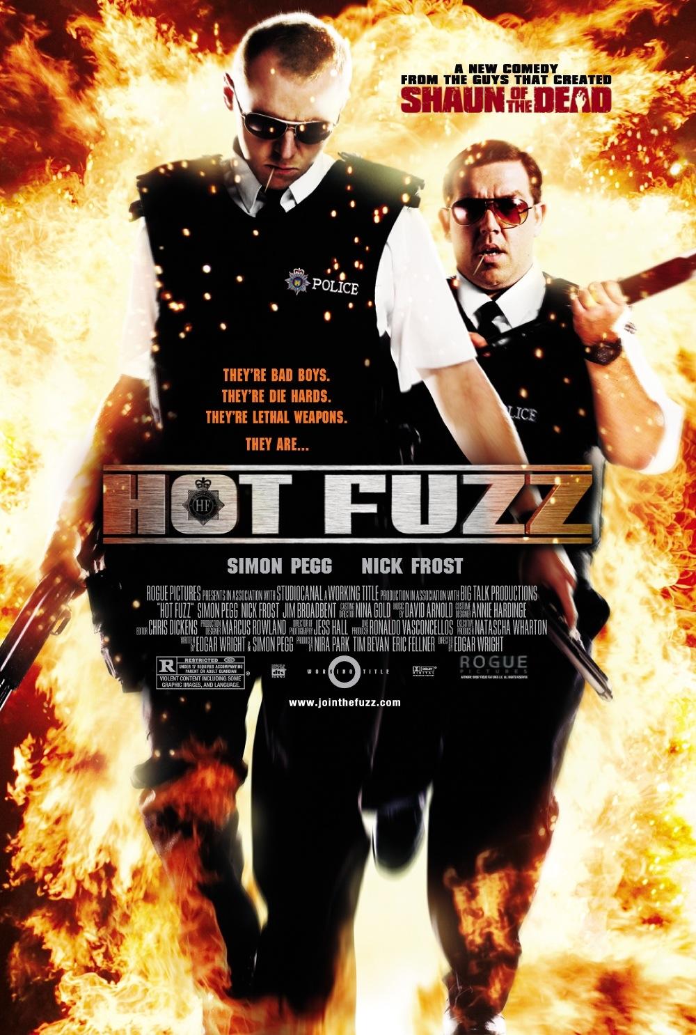 Hot Fuzz kapak