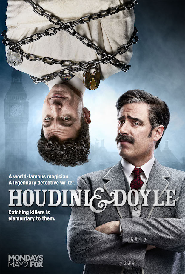 Houdini and Doyle kapak