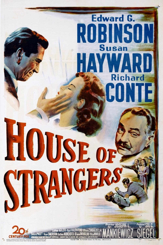 House of Strangers kapak