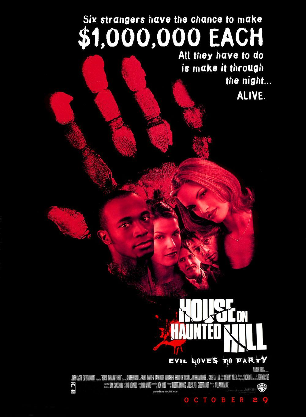 House on Haunted Hill kapak