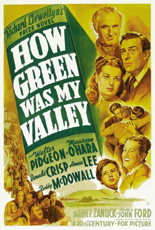 How Green Was My Valley kapak