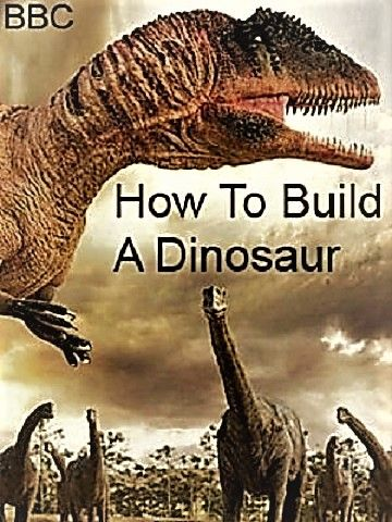How to Build a Dinosaur kapak