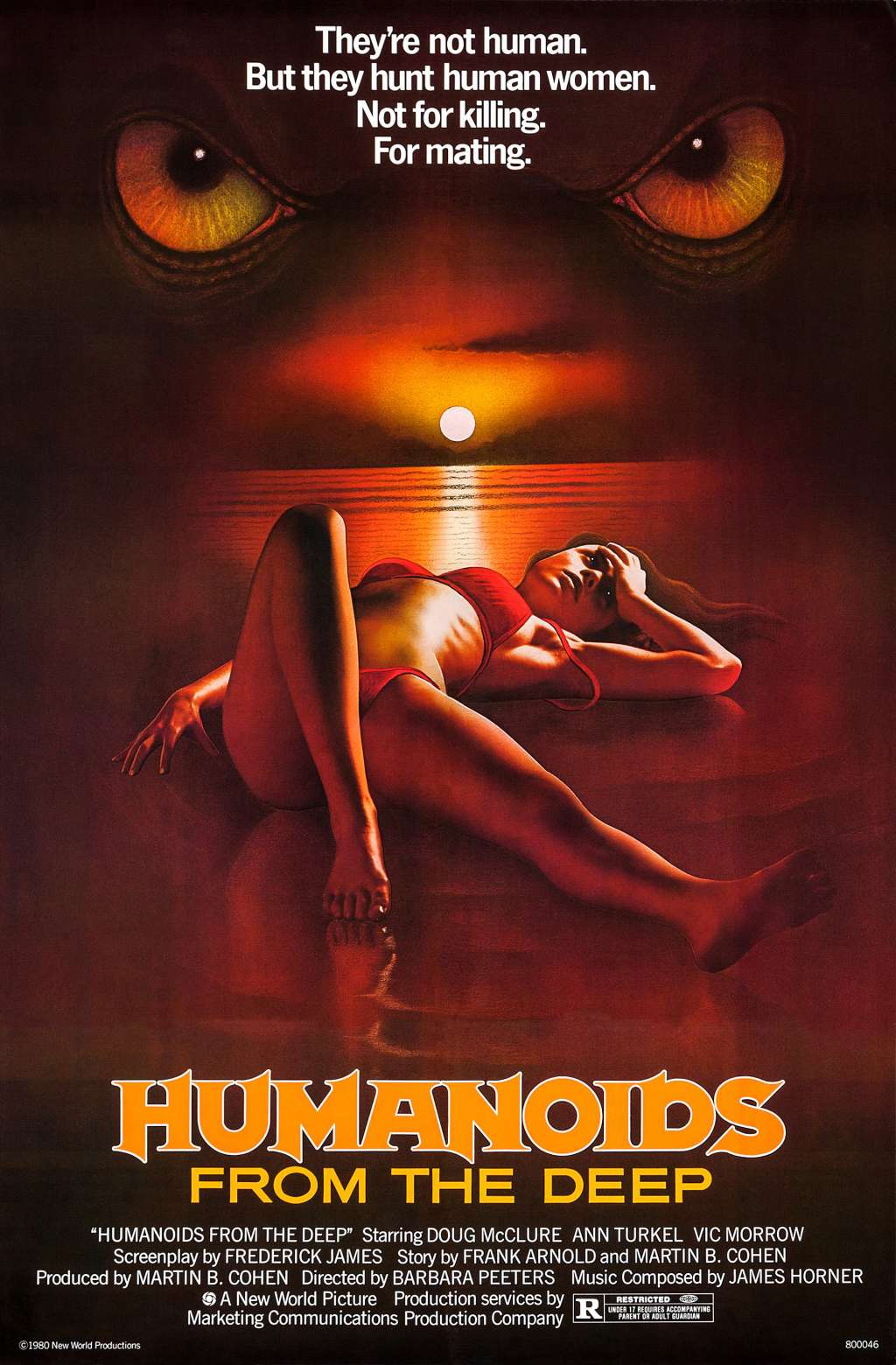Humanoids from the Deep kapak