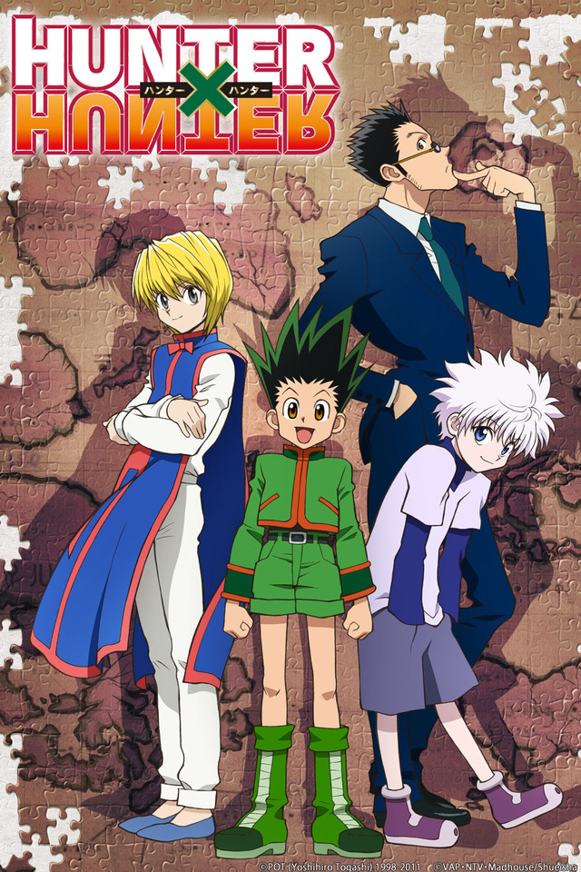 Hunter x Hunter 2011 kapak
