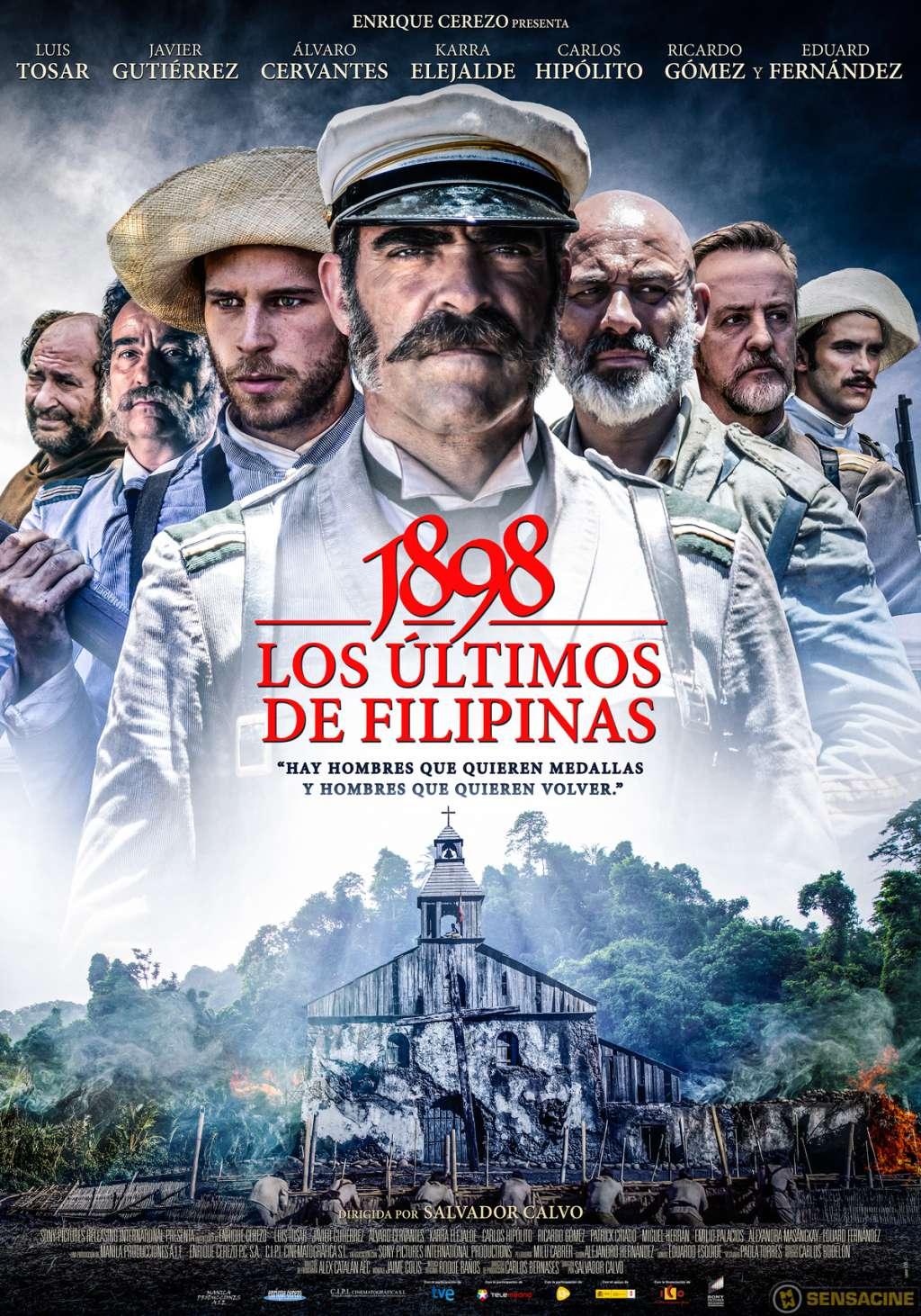 1898. Los últimos de Filipinas kapak