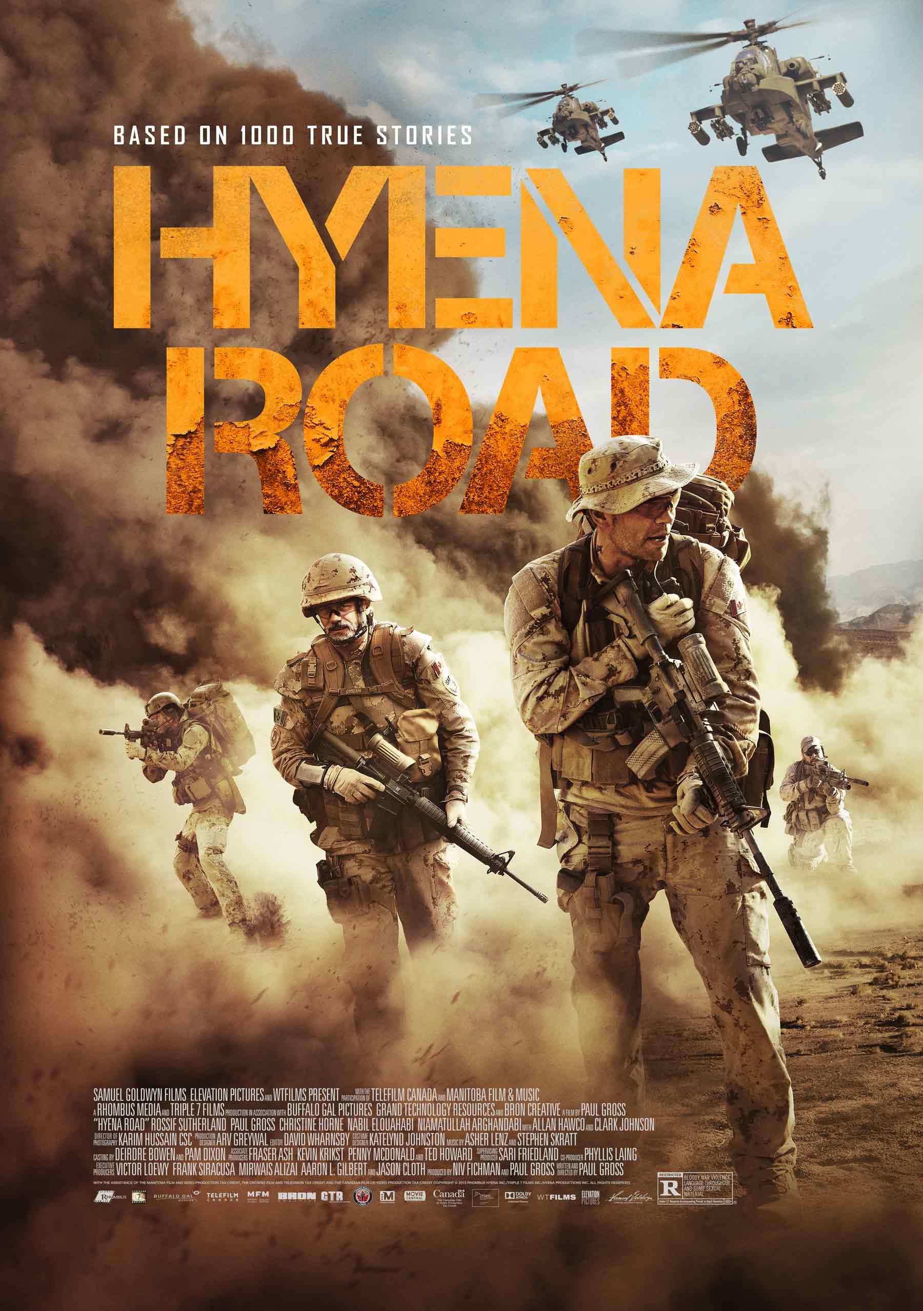 Hyena Road kapak