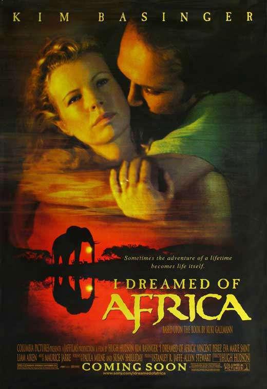 I Dreamed of Africa kapak