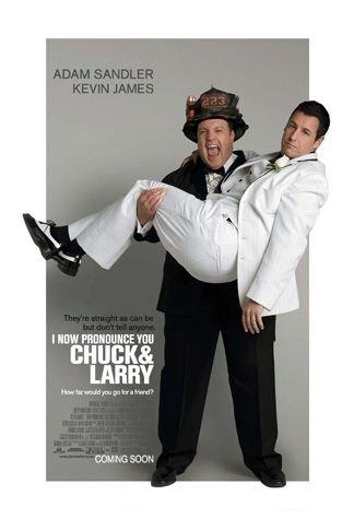 I Now Pronounce You Chuck & Larry kapak