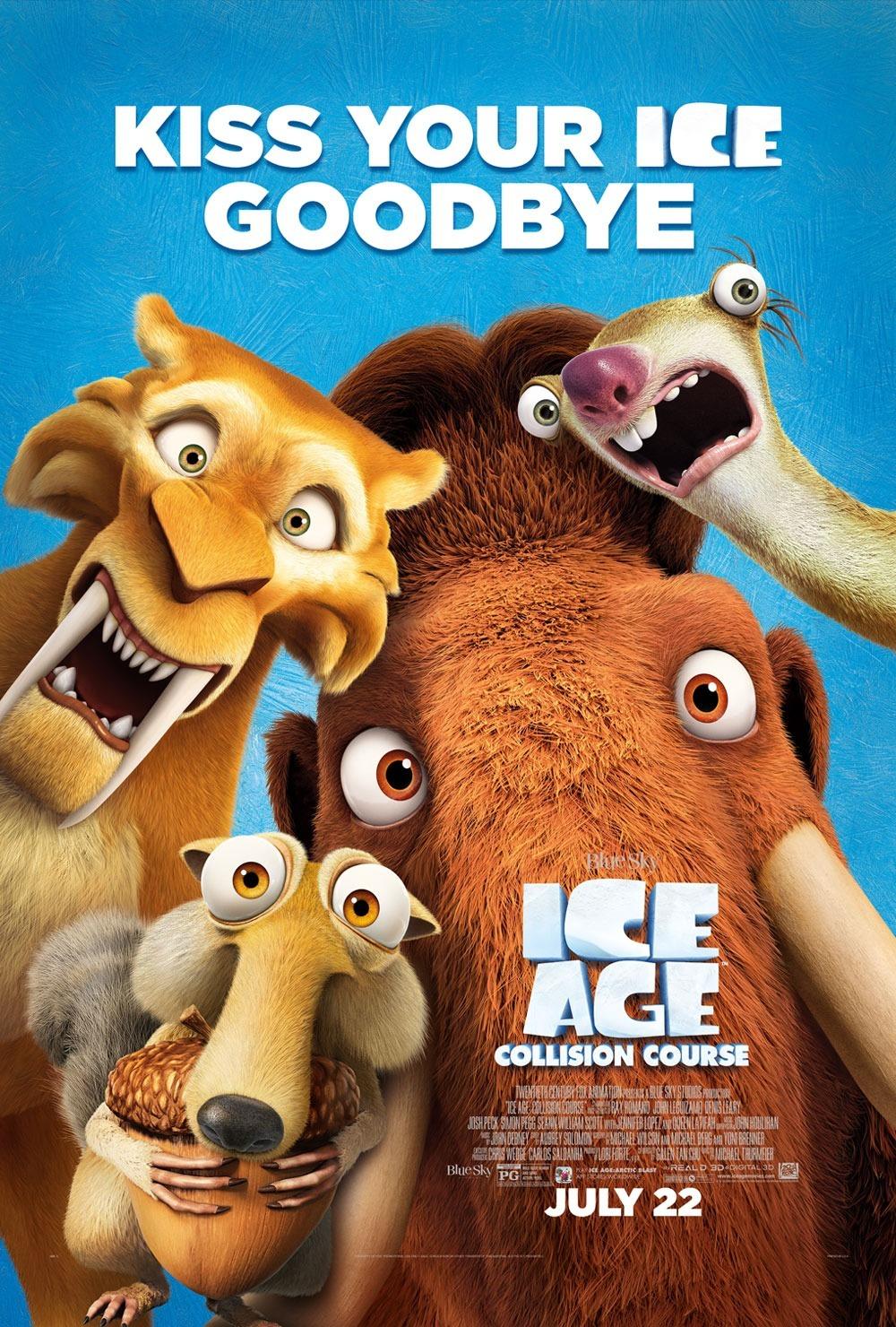 Ice Age: Collision Course kapak