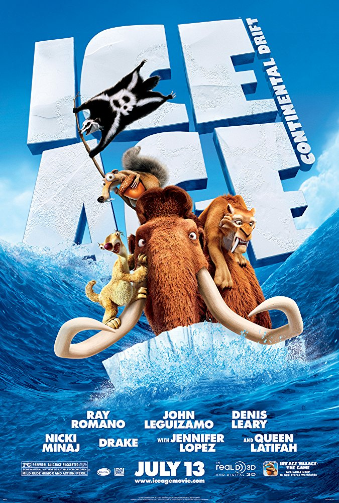 Ice Age: Continental Drift kapak